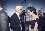 Lý Nhã Kỳ là mỹ nhân Việt duy nhất được trò chuyện với Karl Lagerfeld - huyền thoại của Chanel