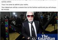 Hoa hậu Mai Phương Thuý, Á hậu Phương Nga và nhiều NTK, stylist thương tiếc trước sự ra đi của huyền thoại thời trang Karl Lagerfeld