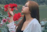 Bạn gái Quang Hải sau sự cố bị hiểu lầm mặc hở ngực đi chùa