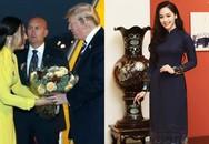 Thông tin bất ngờ về cuộc sống của thí sinh Hoa hậu từng tặng hoa Tổng thống Donald Trump
