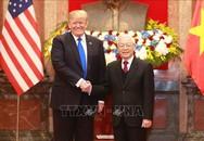 Tổng Bí thư, Chủ tịch nước Nguyễn Phú Trọng tiếp Tổng thống Mỹ Donald Trump