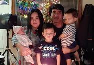 Cuộc sống 3 năm sinh 3 đứa con trên đất Mỹ của Xuân Mai