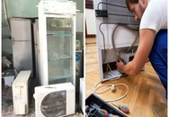 Mua tủ lạnh cũ và hàng loạt rủi ro dễ gây cháy nổ nên biết để tránh