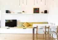 Căn hộ nhỏ trang trí theo phong cách tối giản đẹp hút mắt nhờ điểm nhấn màu sắc tinh tế