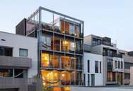 Ngôi nhà phố hiện đại đáp ứng được nhu cầu của cả 3 thế hệ cùng chung sống