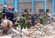 Tai nạn kinh hoàng: Sập tường nhà kho đang xây, 5 người tử vong