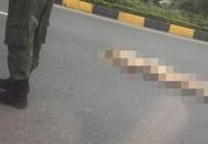 Hà Nội: Cô gái khỏa thân nằm bất tỉnh giữa đường gần sân bay Nội Bài