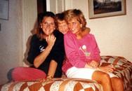 Diana rạng rỡ trong ảnh do hai con trai chụp