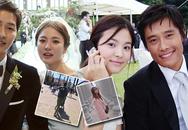 """Khi Song Hye Kyo đau đầu vì bị đồn ly hôn, tình cũ khoe ảnh hạnh phúc bên mỹ nhân """"Vườn sao băng"""" và con nhỏ"""