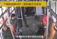 Mẹ cho con tè trên xe buýt rồi hành hung tài xế