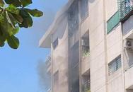 Chung cư ở Sài Gòn bốc cháy dữ dội, nhiều tiếng nổ phát ra