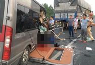 Tiết lộ khó tin về xe khách lao đuôi container khiến cán bộ công an tử vong
