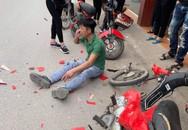 Rùng mình cảnh nam thanh niên không đội mũ bảo hiểm tông thẳng vào đầu ô tô và cái kết khiến nhiều người thở phào