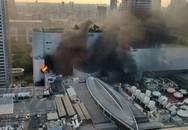 Hiện trường vụ cháy trung tâm mua sắm Thái Lan