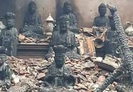 Chùa cổ ở Hà Nội cháy rụi, thiệt hại 700 triệu đồng