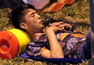 Nghìn người ngủ lại Đền Hùng trong đêm trước giờ chính hội