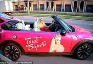 Cảnh không bạn bè của cô gái phẫu thuật giống búp bê Barbie