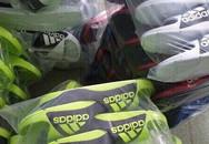 Thu giữ hàng nghìn đôi dép nhái nhãn hiệu Adidas và Nike