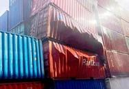 Thùng container chứa bột chế biến tôm phát nổ ở cảng Cát Lái