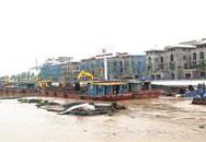 Hải Phòng: Đang trục vớt 2 sà lan chở than bị chìm dưới sông Tam Bạc