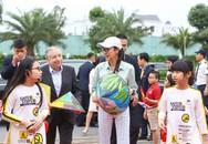 """Với các """"đại sứ nhỏ"""" Vinschool trong chiến dịch 3500lives"""