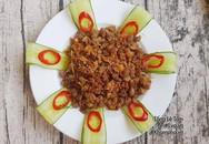 Bữa cơm giản dị nhưng vẫn đánh bay nồi cơm nhờ hương vị ngon, dễ ăn đặc biệt