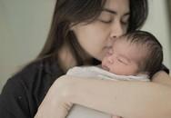 Mỹ nhân đẹp nhất Philippines khoe con trai 4 ngày tuổi