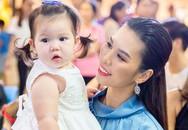 Con gái lai Tây của siêu mẫu Hà Anh lại gây sốt với vẻ ngoài xinh xắn như thiên thần