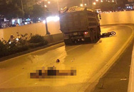 """Hà Nội: Nam thanh niên tử vong tại chỗ sau khi va chạm với xe """"hổ vồ"""" trước hầm Kim Liên"""