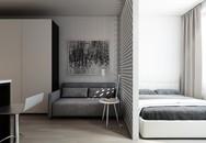 Sử dụng gam màu trung tính, căn hộ vỏn vẹn 30m² khiến bạn mãn nhãn ở mọi góc độ