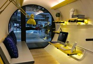 Bạn có muốn sống trong ngôi nhà trong ống bê tông hiện đại và sang trọng?
