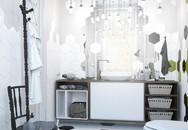 Những mẫu nhà tắm đen – trắng ấn tượng chưa từng lỗi mốt