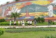 Bức phù điêu bằng gốm màu lớn nhất Việt Nam có gì đặc biệt?