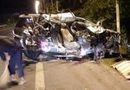 Ô tô 7 chỗ và xe chở rau tông nhau kinh hoàng, 3 người tử vong tại chỗ