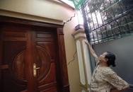 Hoang mang với 80 căn nhà tại Hà Nội bất ngờ sụt lún
