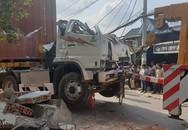 Xe đầu kéo tông sập 3 nhà dân, 3 gia đình ở Sài Gòn may mắn thoát chết