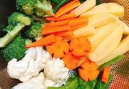 """2 cách ăn rau củ luộc, cách nào cũng ngon """"mười phân vẹn mười"""""""