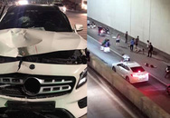 Vụ xe Mercedes đâm 2 người chết tại hầm Kim Liên: Tài xế say đến mức không nhớ gây tai nạn ở đâu