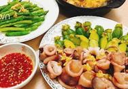 Vợ đảm khoe những mâm cơm ngon đến nỗi chồng khó tính bữa nào cũng ăn sạch bách