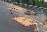 Hai người đi xe máy tử vong sau cú tông của xe tải cùng chiều