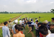 Hà Nội: Phát hiện thi thể nam thanh niên cạnh chiếc xe máy ngoài cánh đồng lúa
