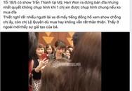 Hari Won bị chỉ trích giả tạo, chảnh chọe khi từ chối chụp hình cùng khán giả lúc đang bán đĩa