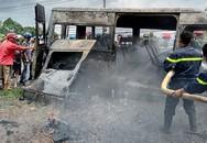 Ôtô khách cháy ở Đồng Nai, bé trai 14 tuổi tử vong