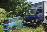 Xe tải mất lái tông hàng loạt ôtô chờ đón dâu