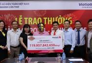 Chủ doanh nghiệp thủy sản Cà Mau trúng xổ số gần 120 tỷ đồng