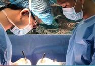 5 tiếng phẫu thuật cho bé sơ sinh mắc bệnh bất thường tĩnh mạch phổi thể phức tạp