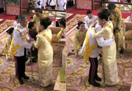 Lễ đăng cơ hé lộ mối quan hệ trong hoàng tộc Thái Lan