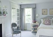 Phòng ngủ thiết kế cửa kiểu Pháp sẽ khiến bạn không phải phân vân việc làm thế nào để có nơi nghỉ ngơi lãng mạn