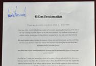 Trump ký một mình một kiểu trong tuyên bố chung với lãnh đạo thế giới