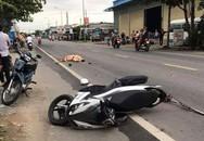 Thượng úy cảnh sát giao thông bị xe container cán tử vong tại chỗ